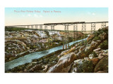 Pecos River Railway Bridge, Texas Posters