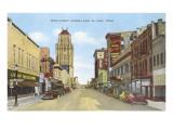 Texas Street, El Paso, Texas Posters