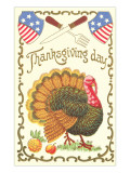 American Turkey, Knife and Fork Prints