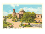 San Jose Mission, San Antonio, Texas Prints