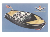 Fifties Speedboat Posters