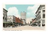 Austin Street, Waco, Texas Prints