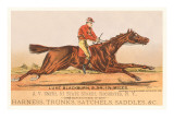 Advertisement for Tack, Steeplechase Reprodukcje