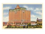 Hôtels Baker, Mineral Wells, Texas Posters