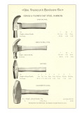 Advertisement for Steel Hammers Affiches