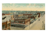 Overview of Wichita Fall, Texas Prints