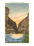 The Grand Canyon of Texas, Rio Grande Posters