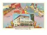 Hotel La Crosse, La Crosse, Wisconsin Prints
