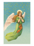 Angel in Flight Print