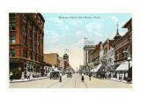 Houston Street, Fort Worth, Texas Prints