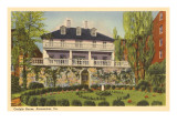 Carlyle House, Alexandria, Virginia Print