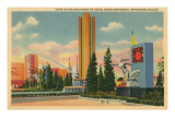 Texas Centennial Exposition, Dallas Posters
