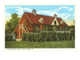 Washington's Barn, Mt. Vernon, Virginia Prints