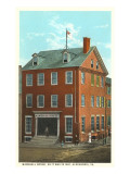 Marshall House, Alexandria, Virginia Posters