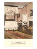 Monroe Bedroom, Charlottesville, Virginia Prints