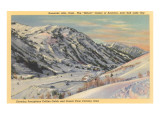 Alta Ski Basin, Utah Poster