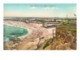 Ocean Beach, San Diego, California Poster
