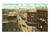Houston Street, San Antonio, Texas Prints