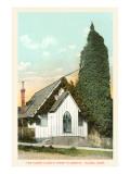 Oldest Church Tower, Tacoma, Washington Print