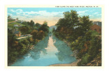 West Fork River, Weston, West Virginia Print