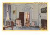 Interior, Mt. Vernon, Virginia Prints