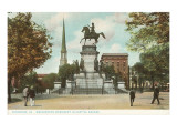 Washington Monument, Richmond, Virginia Posters
