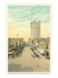 Austin Street, Waco, Texas Poster