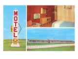Fiesta Vintage Motel Poster