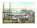 Old Harbor, Block Island, Rhode Island Prints