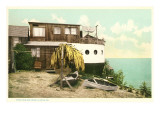 House Made of Boat, La Jolla, California Prints