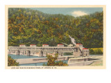 Lock and Dam on Kanawha River, London, West Virginia Posters