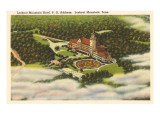 Lookout Mountain Hotel, Tennessee Prints