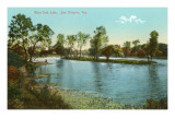 West End Lake, San Antonio, Texas Prints