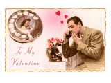 To My Valentine, Lovers on Phone Posters