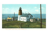 Point Judith Lighthouse, Rhode Island Prints
