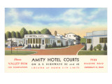 Amity Hotel Courts Posters