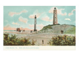 New and Old Lighthouses, Cape Henry, Virginia Posters