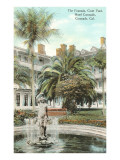 Courtyard, Hotel del Coronado, San Diego, California Prints