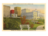 Federal Building and Post Office, Memphis, Tennessee Poster