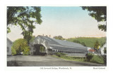 Covered Bridge, Woodstock, Vermont Posters