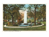 Miller Park, Lynchburg, Virginia Print