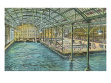 Interior, Sutro Baths, San Francisco, California Prints