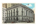 Post Office, Wheeling, West Virginia Prints