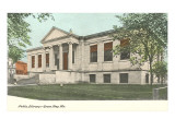 Public Library, Green Bay, Wisconsin Print