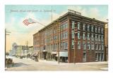 Berwick House, Center Street, Rutland, Vermont Posters