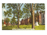 Brown-Universität, Providence, Rhode Island Kunstdrucke