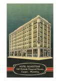 Gladstone Hotel, Casper, Wyoming Art