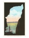 Cave at La Jolla, California Prints