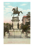 Washington Monument, Richmond, Virginia Print