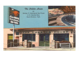 Lobster House Restaurant, Santa Barbara, California Poster